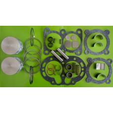 Ремкомплект  компрессора ЗиЛ-130, Т-150, МАЗ, КамАЗ полной комплектации + поршневые пальцы (Номинал)