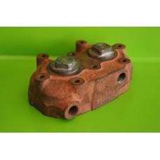 Головка блока цилиндров компрессора ЗиЛ-130, Т-150, КамАз, МАЗ
